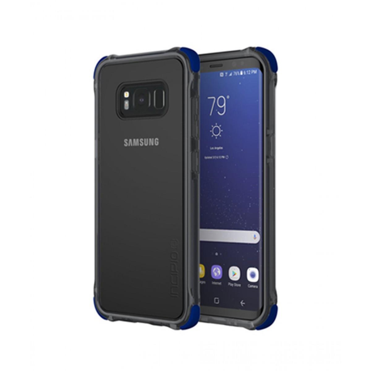 premium selection aa39d 4ad39 Incipio Reprieve Sport Clear/Blue Case For Galaxy S8