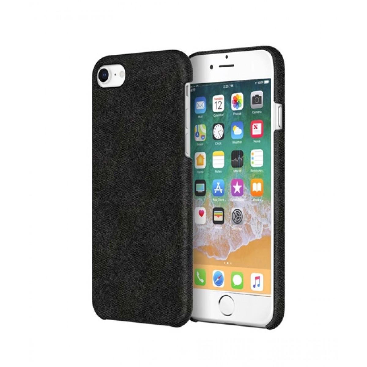 promo code cd9ca 64434 Incipio Slim Case Black Fabric Case For iPhone 8