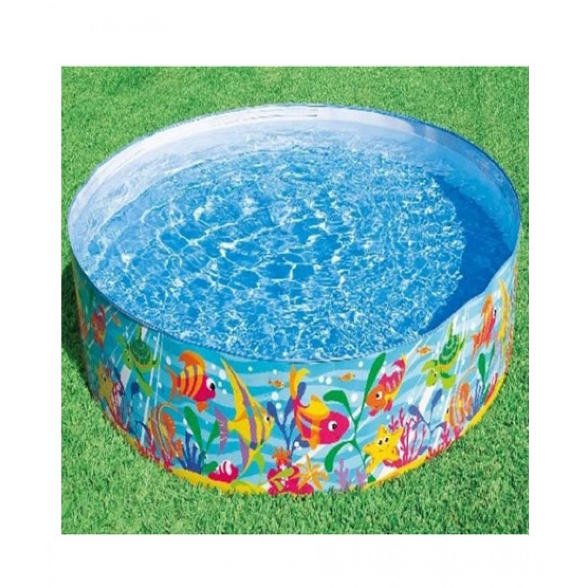 Intex Inflatable Large Swimming Pool - Multicolor (INTEX-56452)