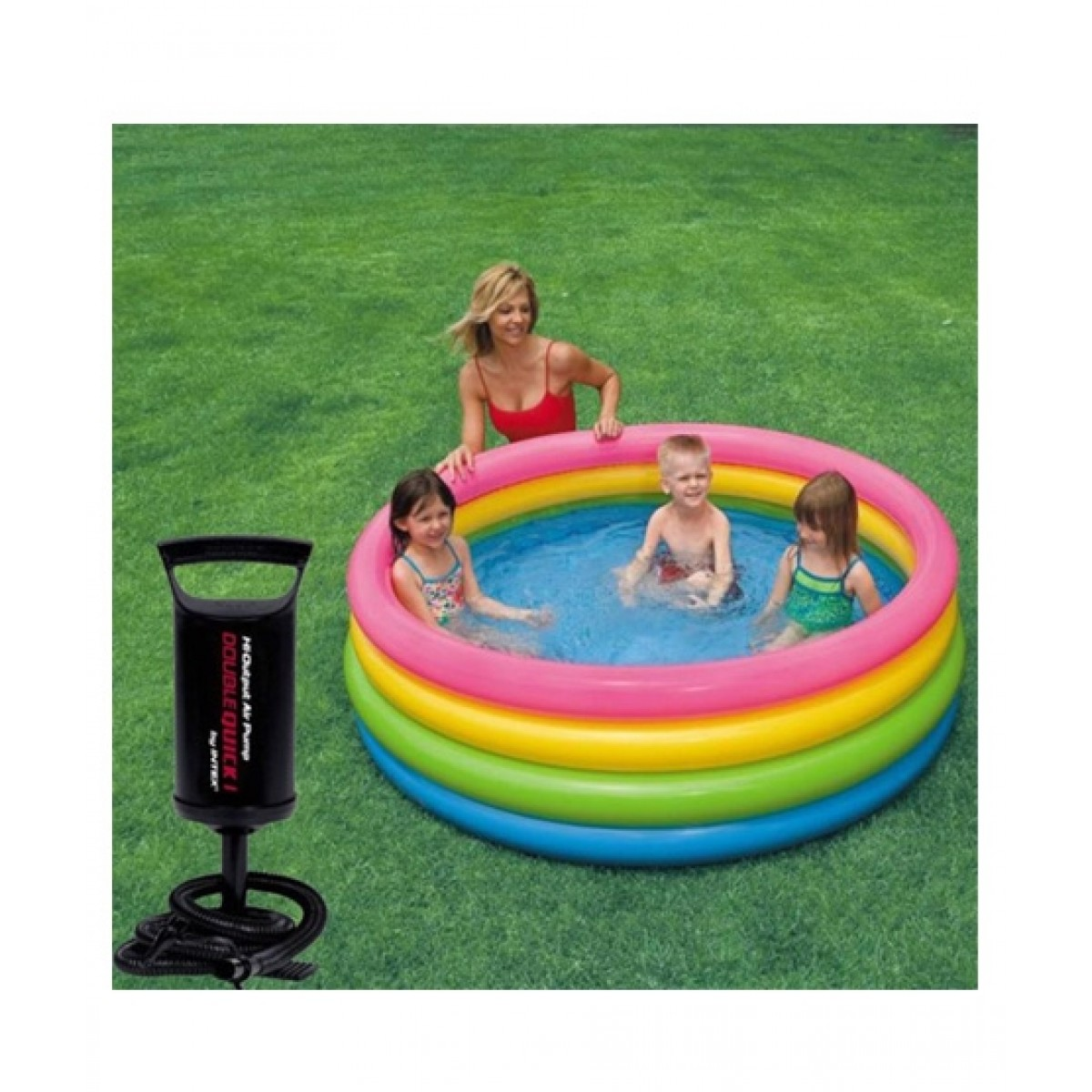 Intex Sunset Glow Swimming Pool With Pump