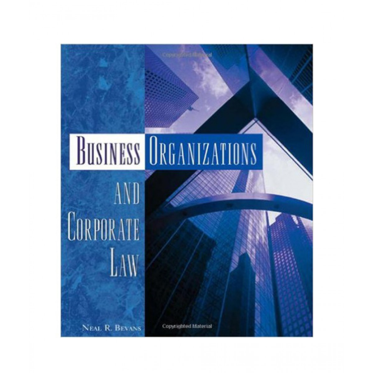 Business Organizations and Corporate Law Book 1st Edition