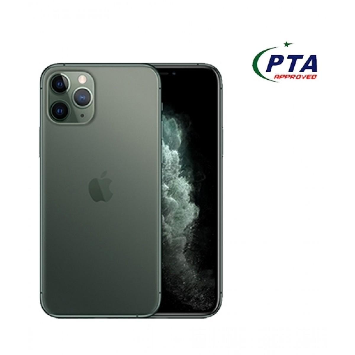 Apple iPhone 11 Pro Max 512GB Dual Sim Midnight Green - Official Warranty
