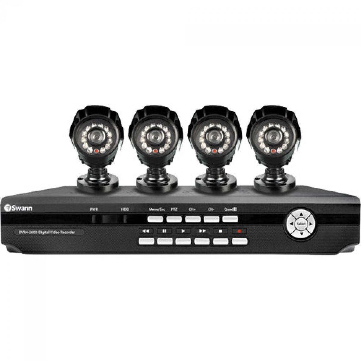 Swann DVR4-2600 DVR With 4 Channel & 4 Camera