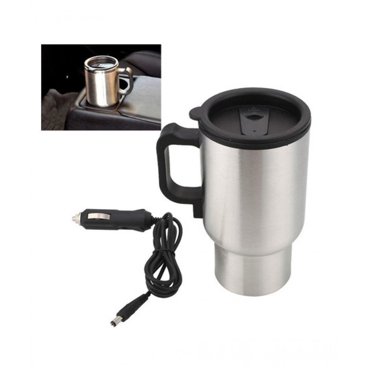 Israr Mall 12V Car Electric Auto Mug 500ML