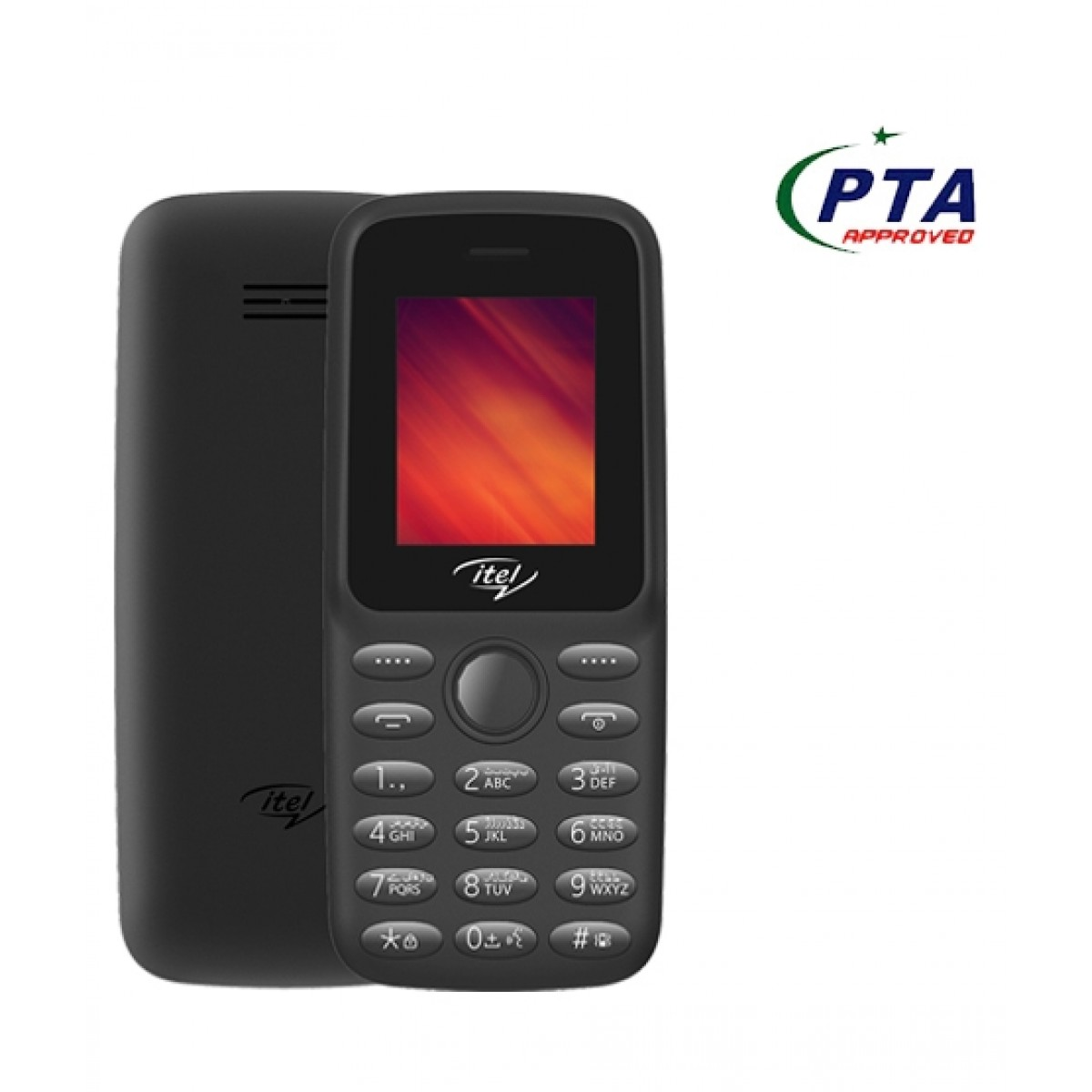Itel Value 100 Dual Sim Black (IT2163)