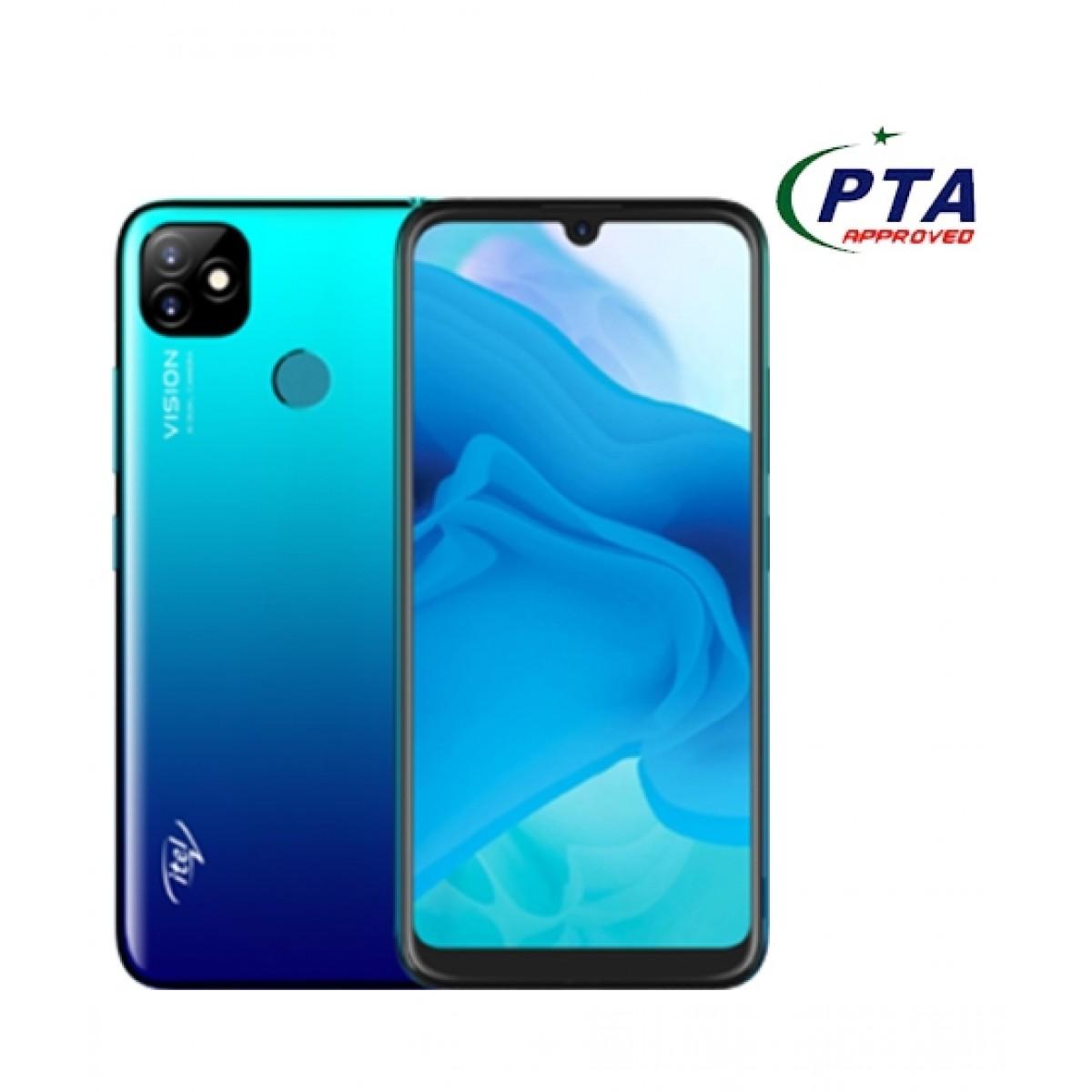 Itel Vision 1 Plus 32GB 3GB RAM Dual Sim Gradation Blue