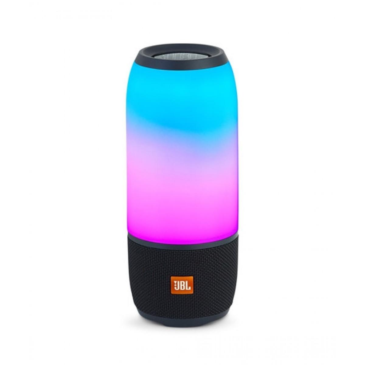 JBL Pulse 3 Portable Bluetooth Speaker Black