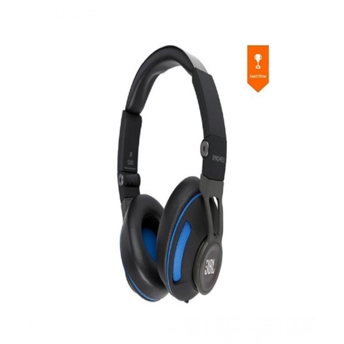 bcf4b522420 JBL Synchros S300 Premium Headphones Price in Pakistan | Buy JBL S300  Premium On-Ear Headphones Black/Blue | iShopping.pk
