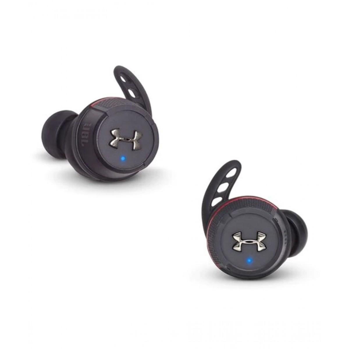 JBL Under Armour True Wireless Flash Earbuds Black