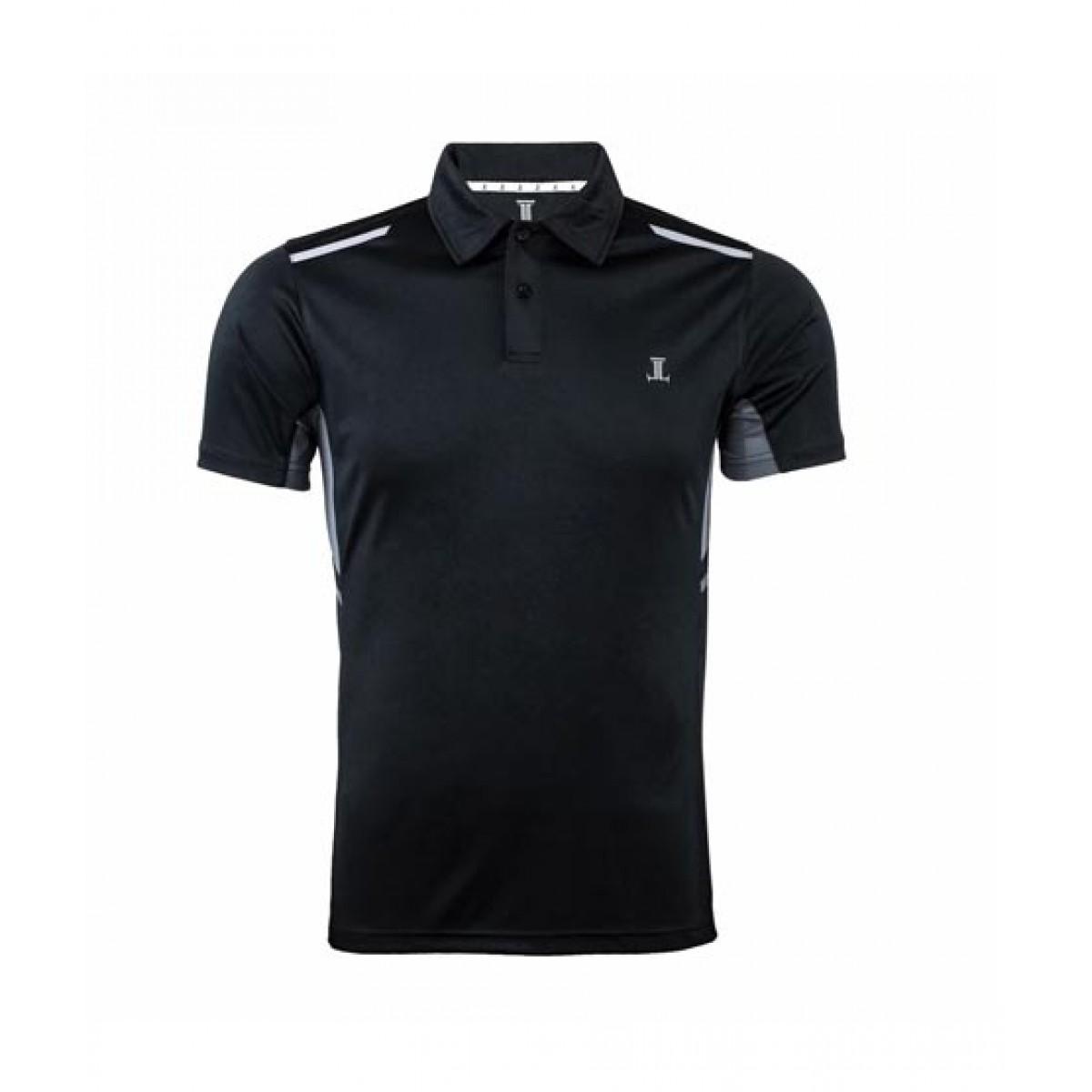 Julke Nate Slim Fit Polo Shirt For Men Black