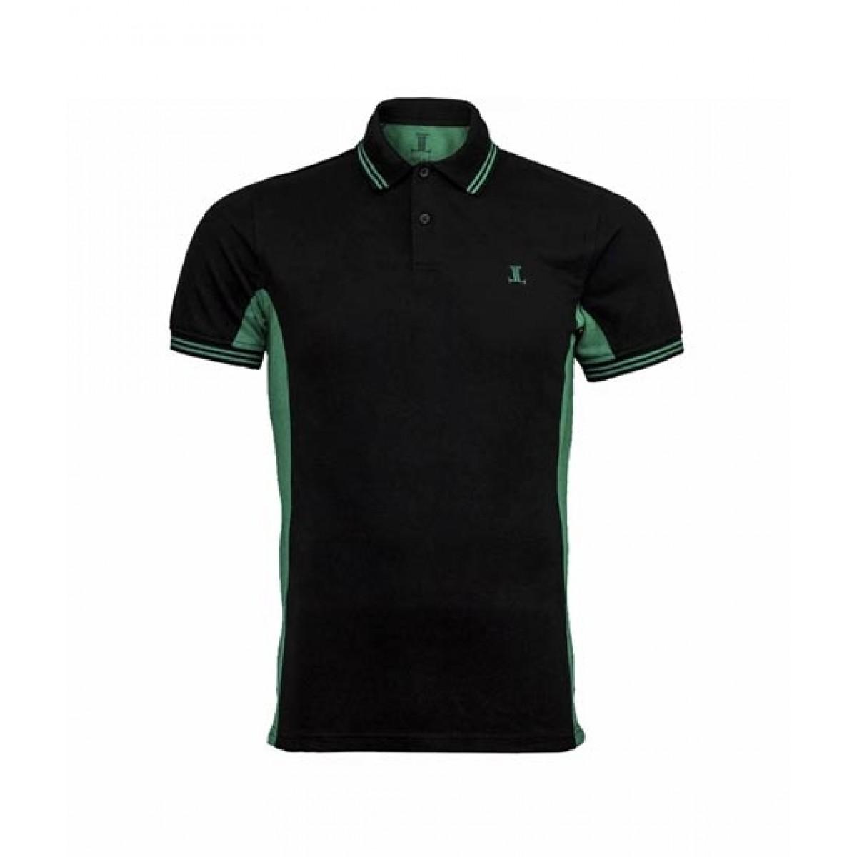 Julke Scott Polo Shirt For Men Green/Black