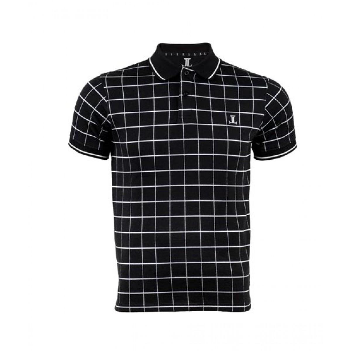 Julke Simon Polo Shirt For Men Black