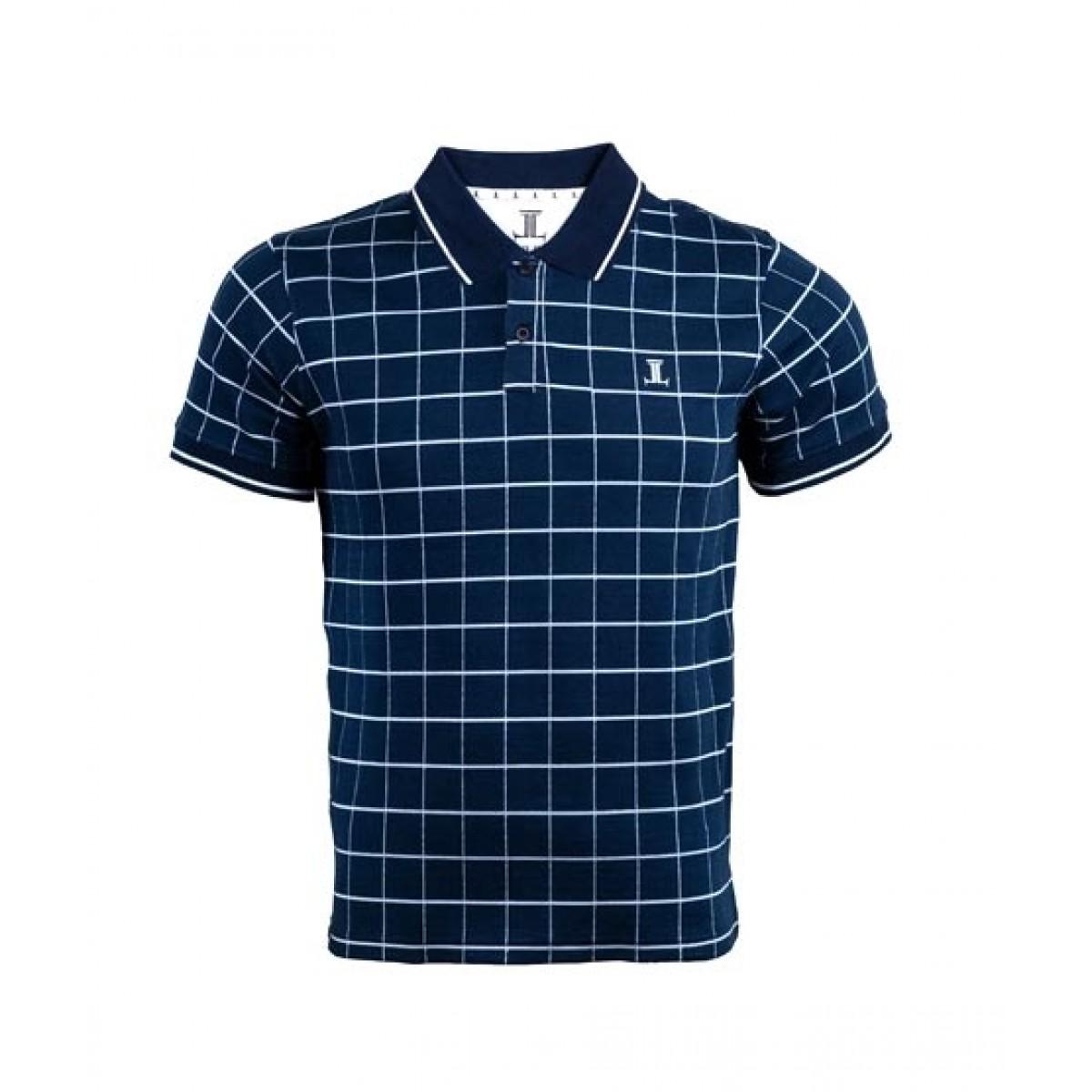 Julke Simon Polo Shirt For Men Navy Blue