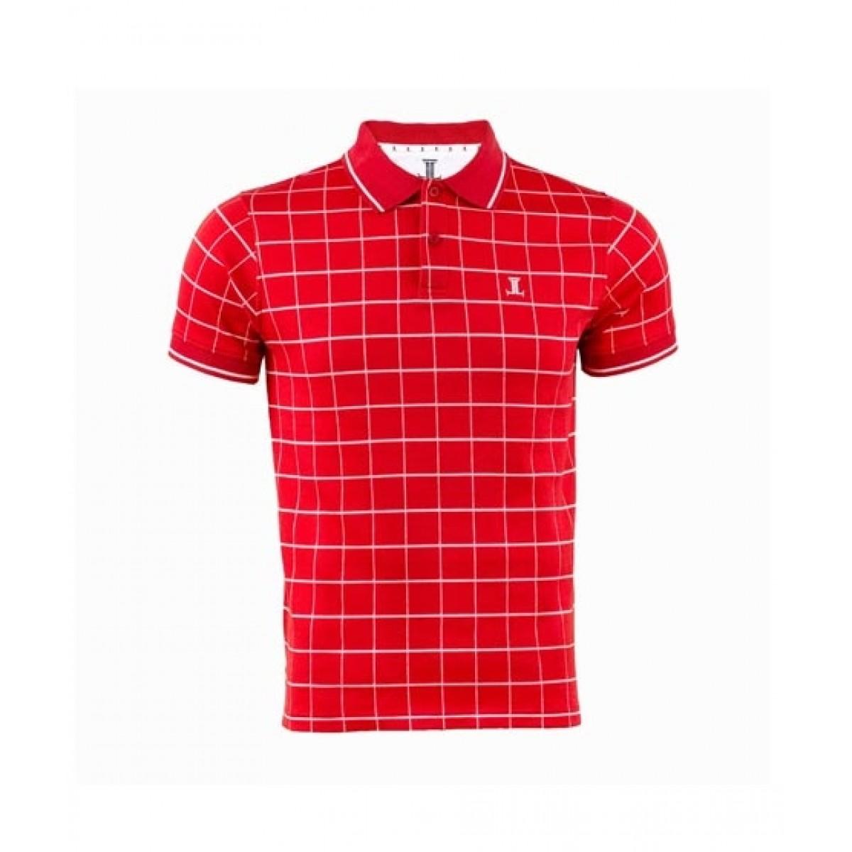 Julke Simon Polo Shirt For Men Red