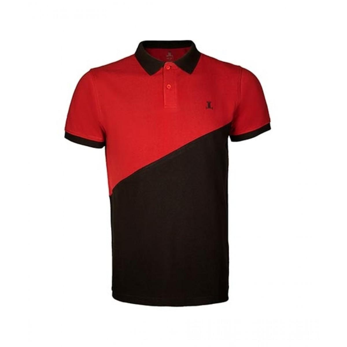 Julke Tyler Polo Shirt For Men Red/Black