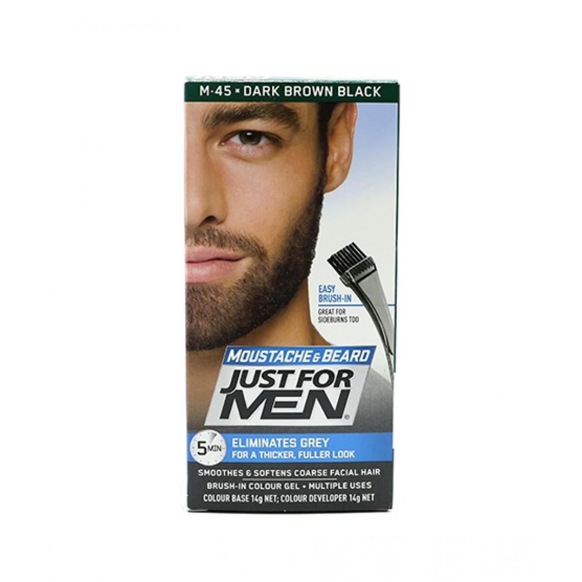 Just For Men Brush-In Color Gel Dark Brown (M-45)