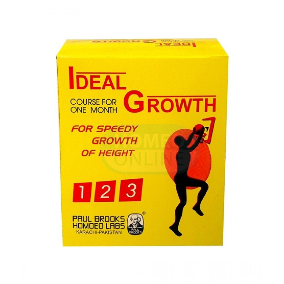 Karachi Shop Ideal Height Growth Homeopathic Formula
