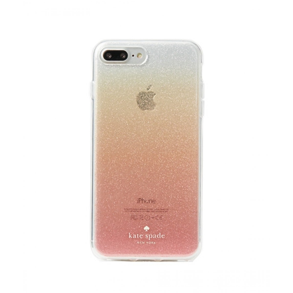sports shoes 64e4f cd21c Kate Spade Glitter Ombre Pink Case For iPhone 8 Plus