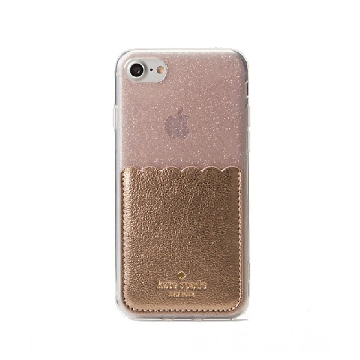 new concept dd836 5b609 Kate Spade Stick To It Soft Rose Gold Case For iPhone 8