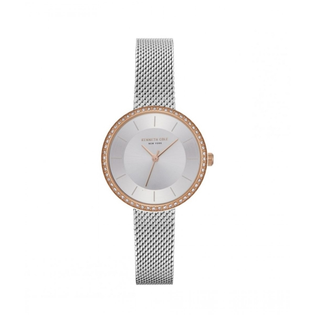Kenneth Cole New York Analog Women's Watch Sliver (KC50198001)