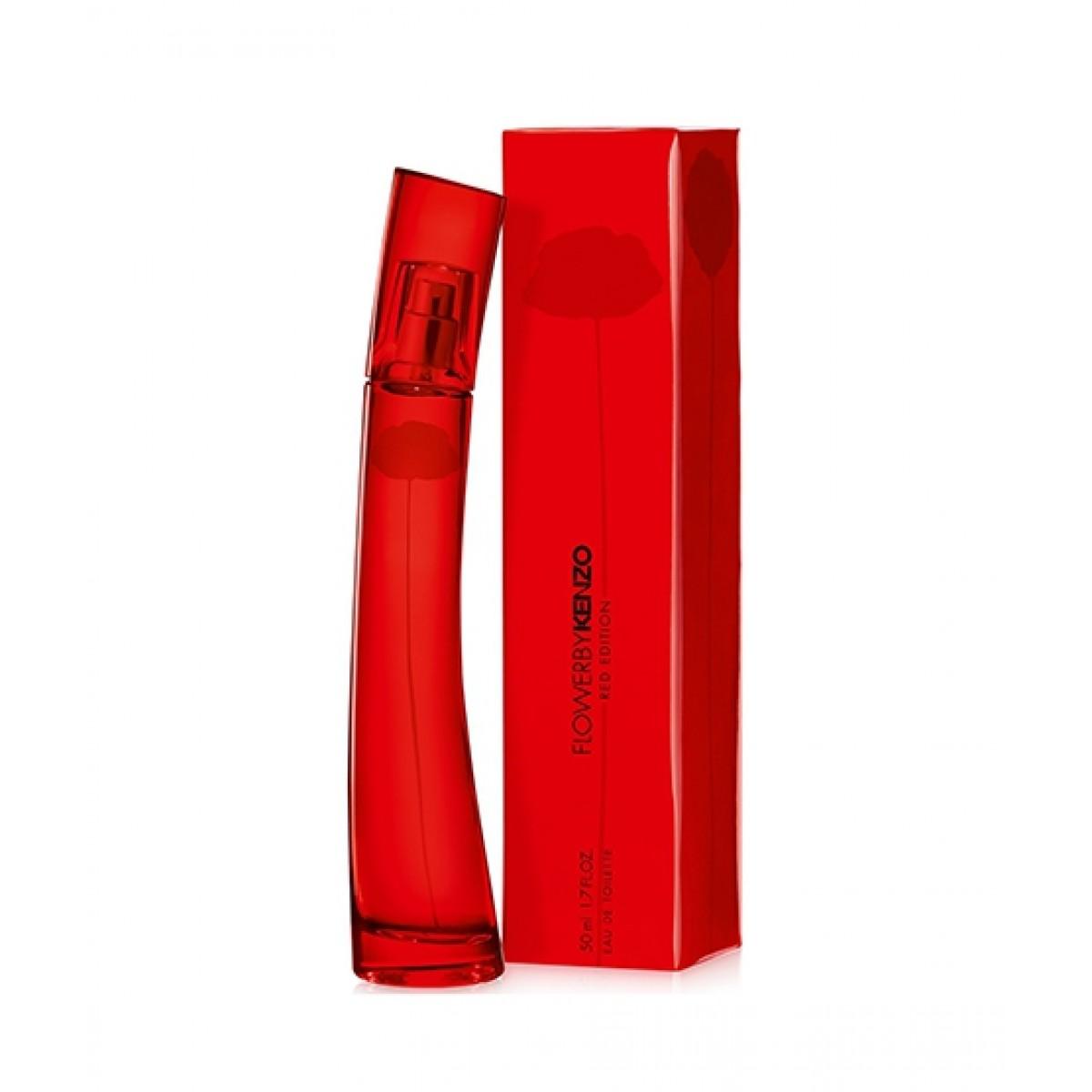 Kenzo Women 50ml Red Edition For Perfume Edt Flower shxtQrCd