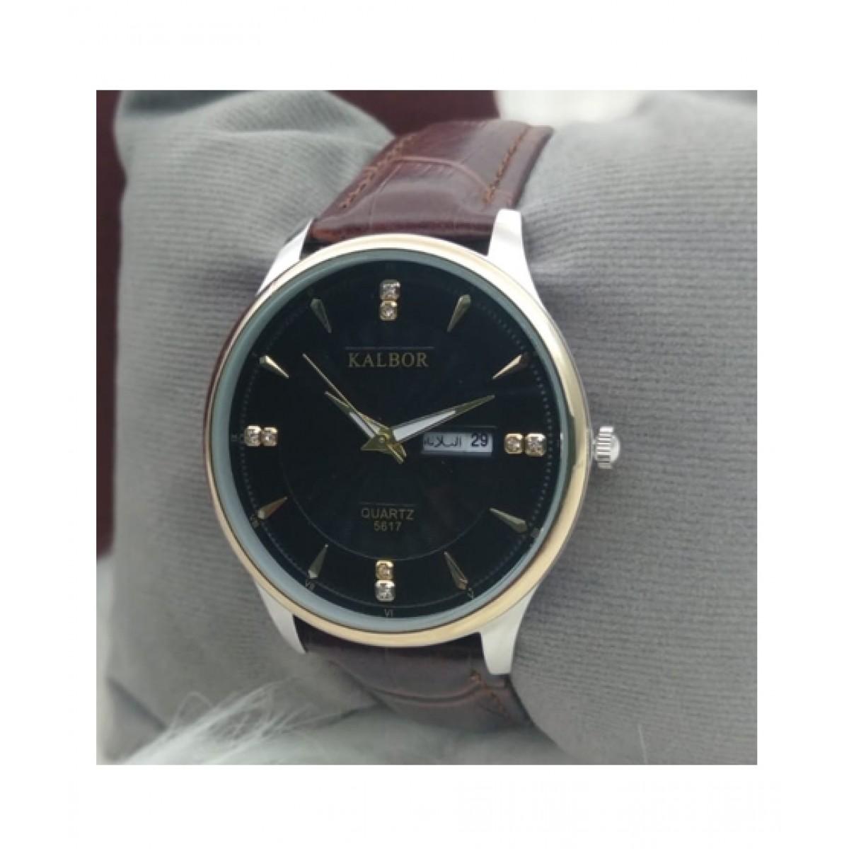 KK Accessories Kalbor Analog Watch For Men Brown (BGI1-0294)