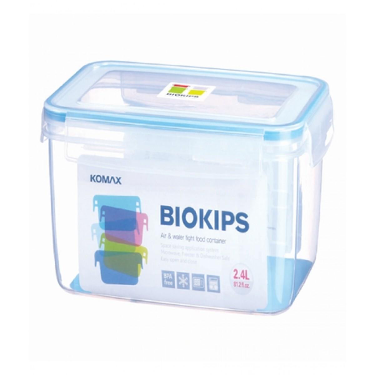 Komax Biokips R41 Air & Watertight Food Container 2.4Ltr (71505)