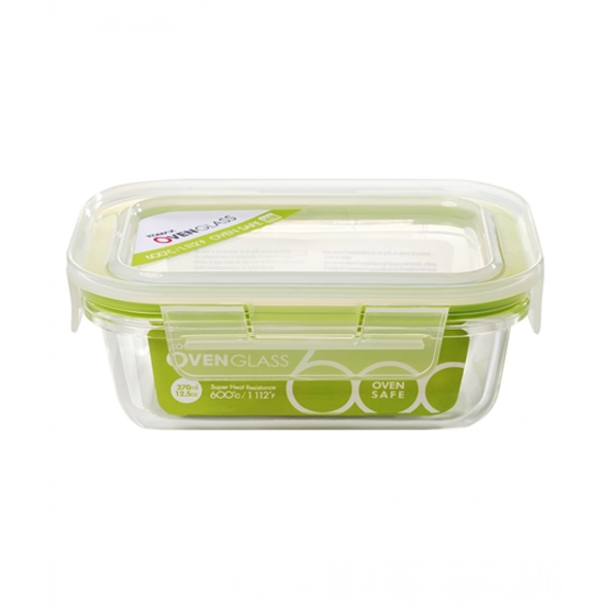 Komax Oven Glass R1 Food Container 370ml (58615)
