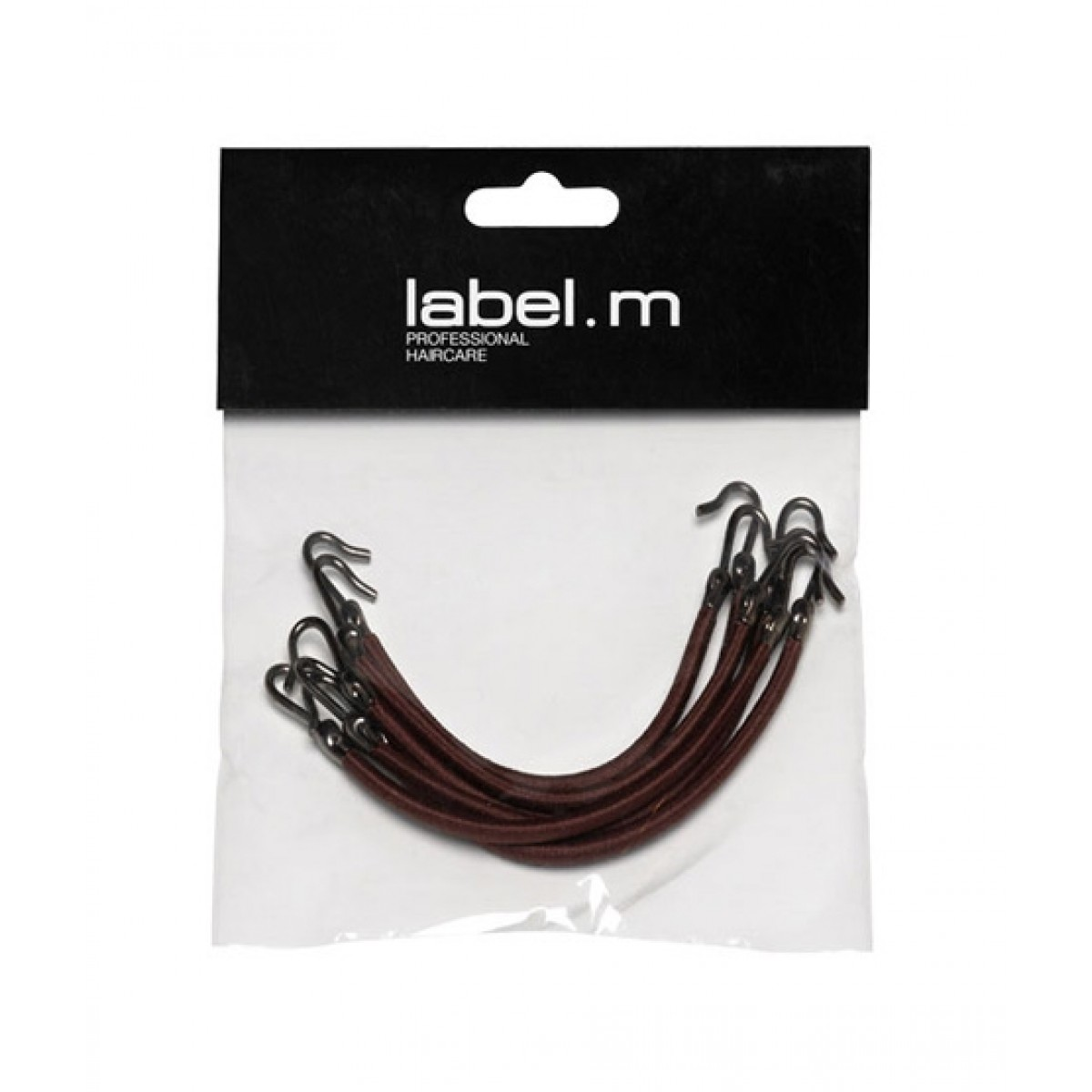 Label M Bungee Hook Brown (Pack of 6)