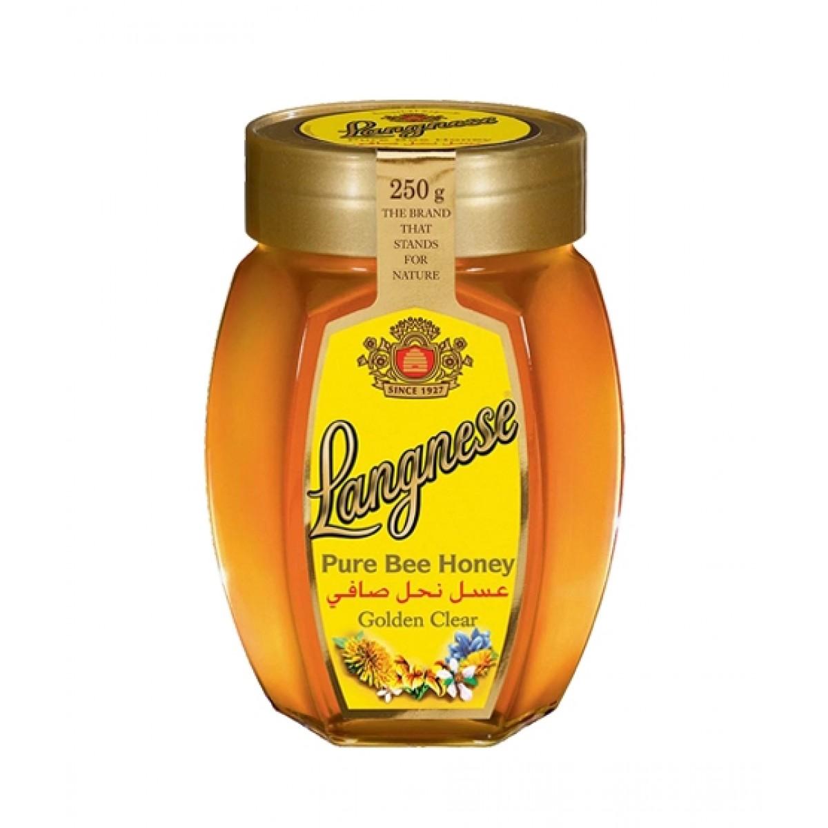 Langnese Pure Bee Honey 250gm