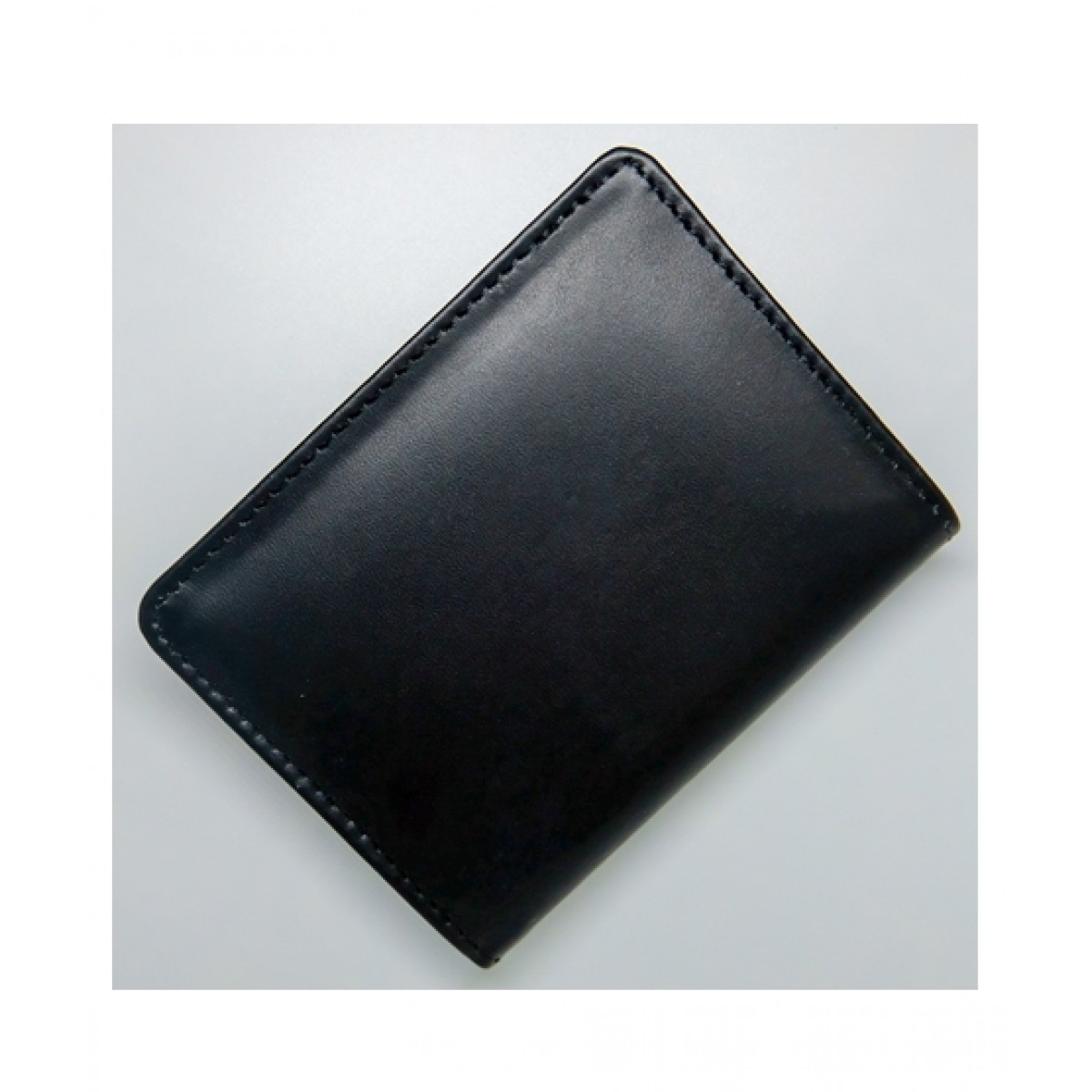 Le Conceptuer Leather Card Holder For Men Black