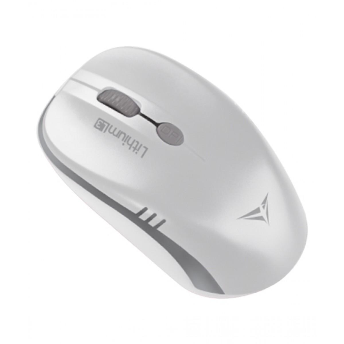 Alcatroz Lithium L3 Wireless Mouse White/Grey