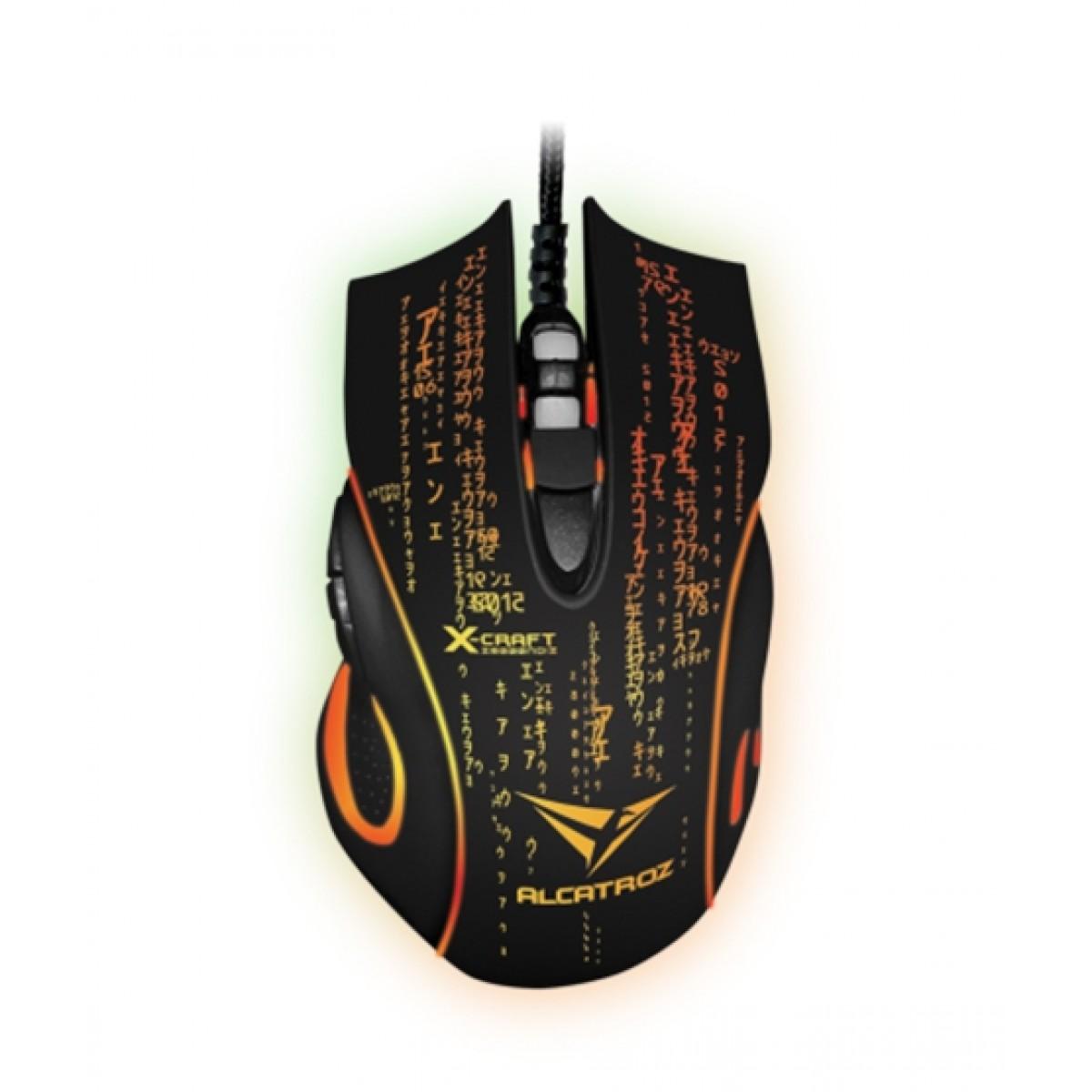 LeapFrog Alcatroz X-CRAFT Noiz Z8000 Gaming Mouse