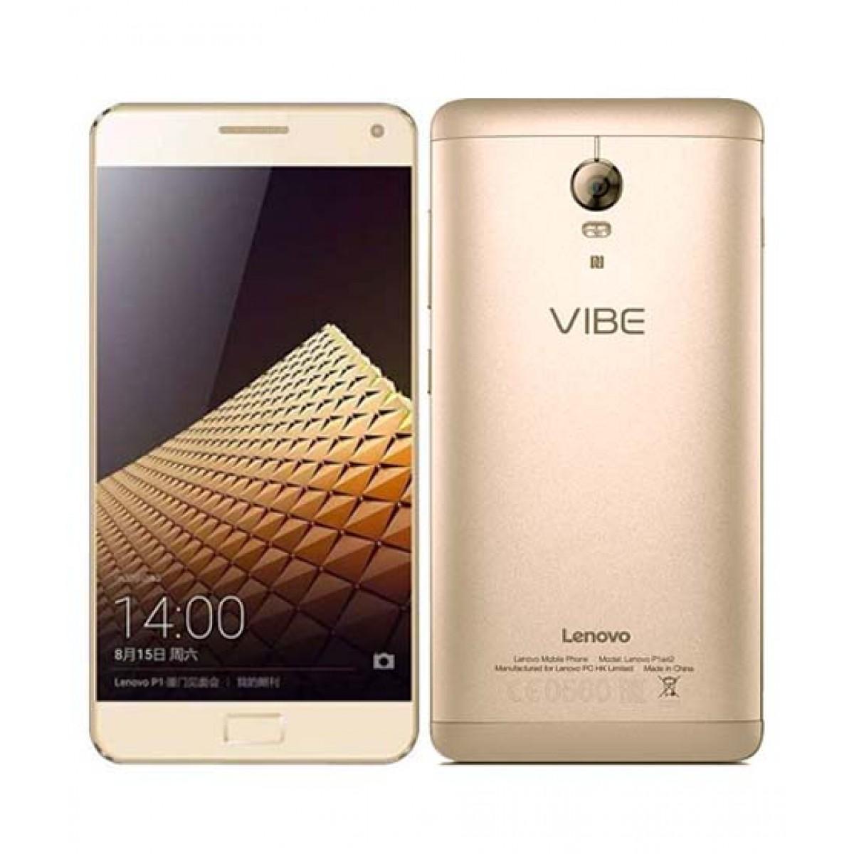 Lenovo Vibe P1 4G Dual Sim Smartphone Gold