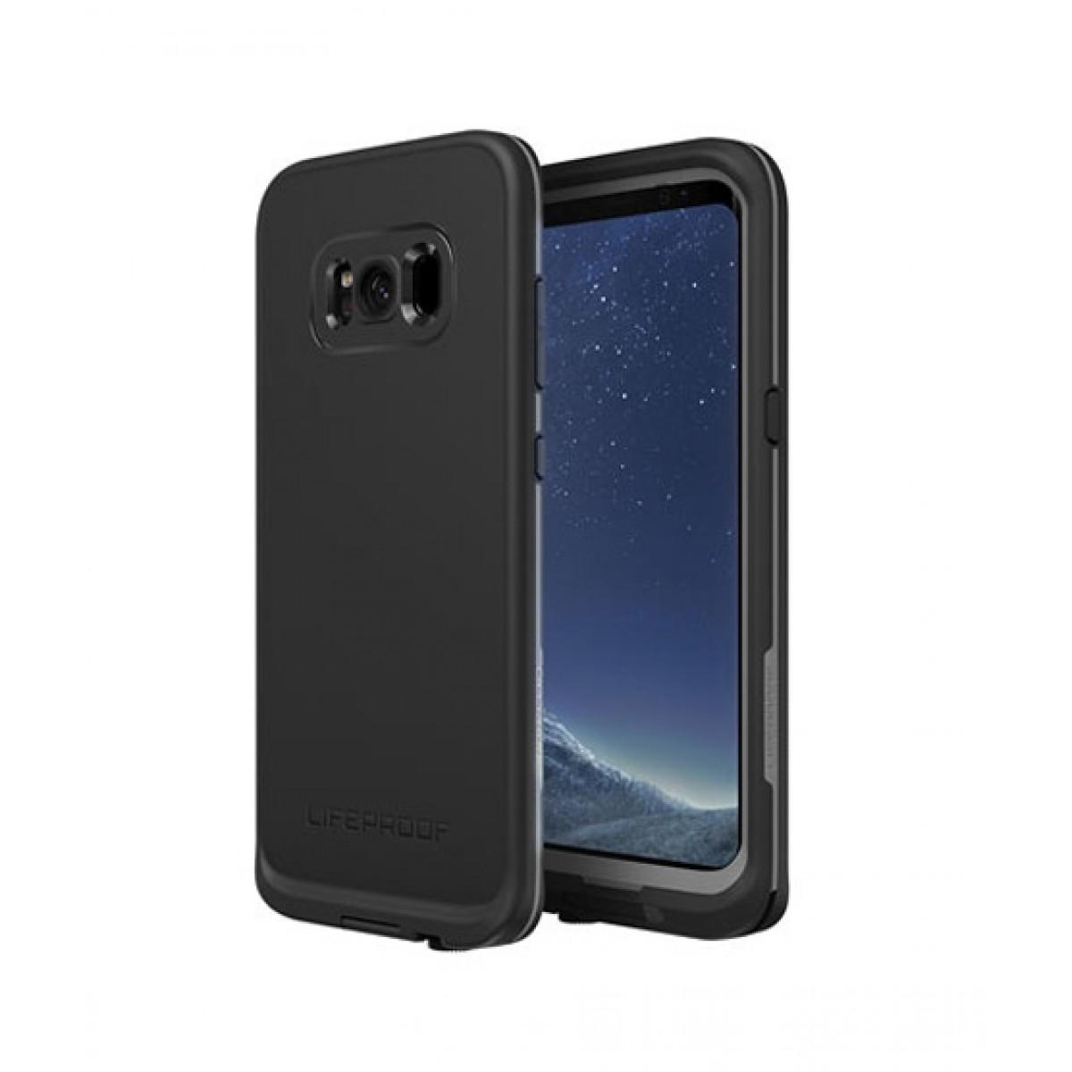 best service 62c3c df460 Lifeproof Fre Asphalt Black Case For Galaxy S8+
