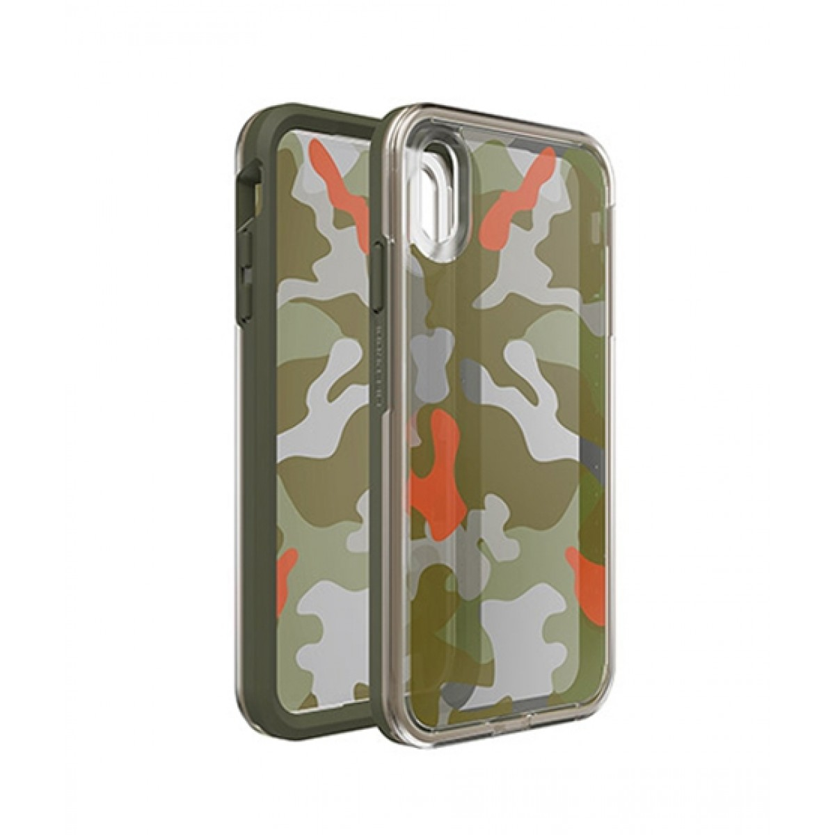 online store 92ada ea143 LifeProof Slam Woodland Camo Case For iPhone XS Max