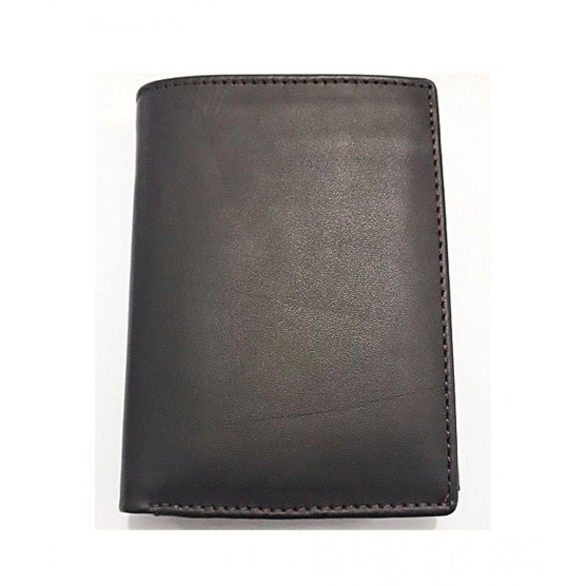 Eizybuy Original Cow Leather Wallet For Men Black