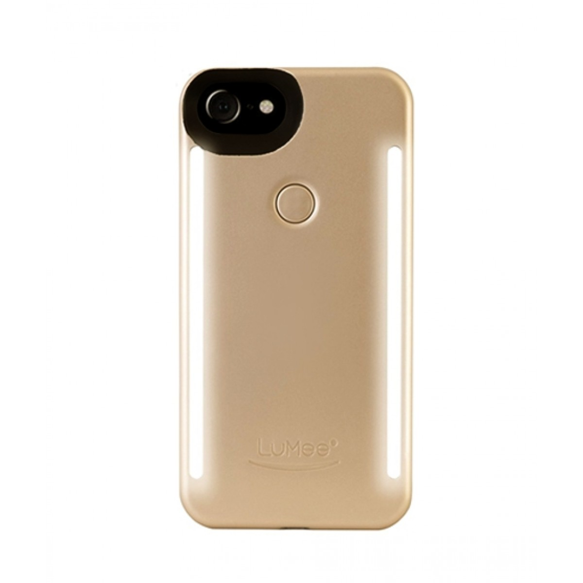 big sale a02ad 63389 LuMee Duo Cell Phone Case For iPhone 7/8 - Gold Matte