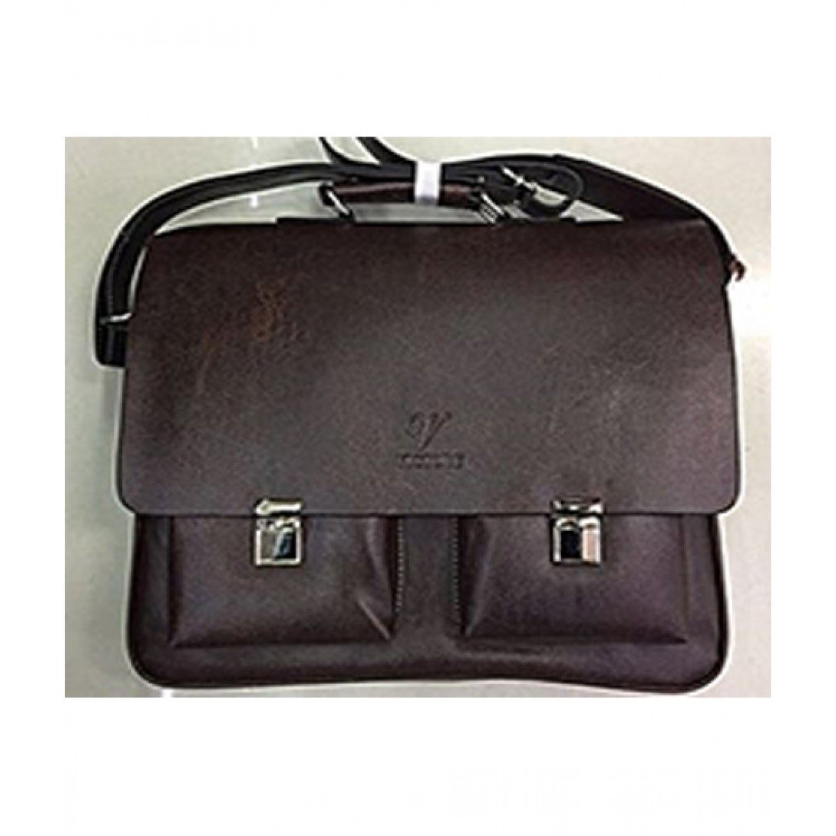 M.H Store 15.6  PU Leather Laptop Bag Price in Pakistan  6718592f4