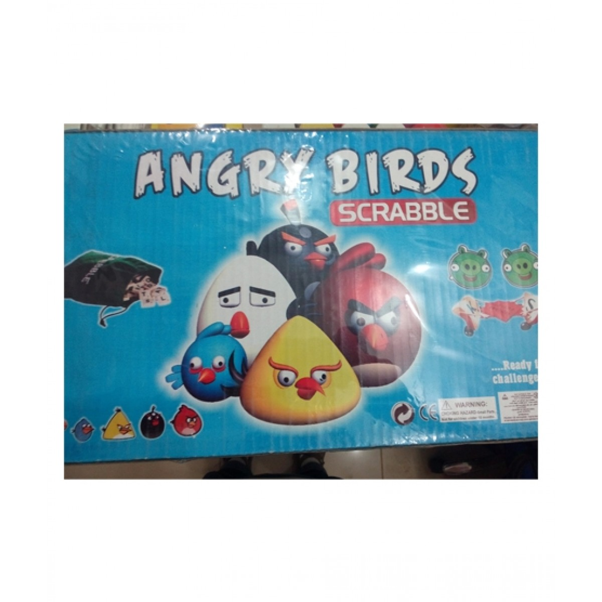 M Toys Angry Bird Scrabble Board Game Large (0255)