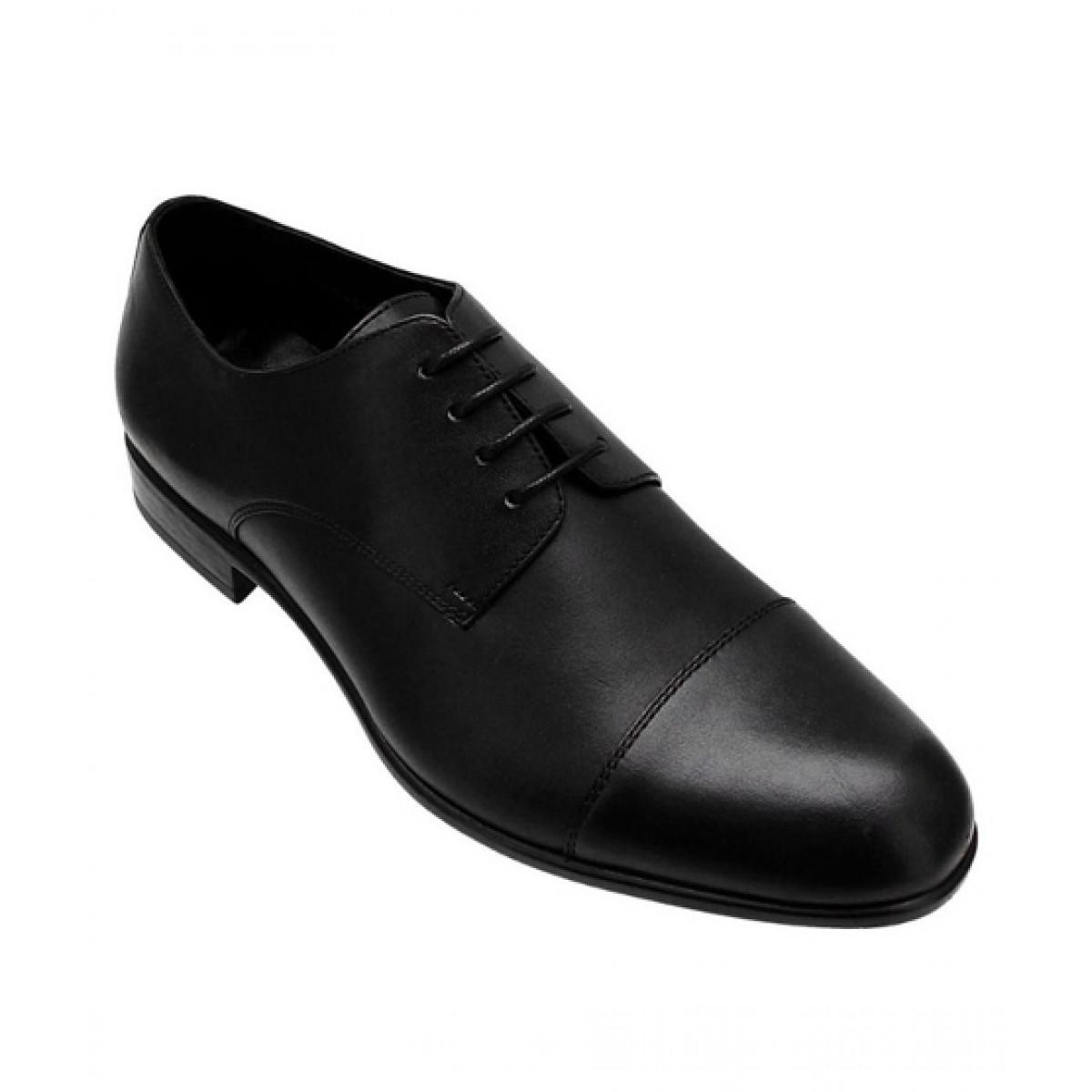 Marc Kessler Formal Classic Derby Shoes For Men Black (MK-SM-0003)