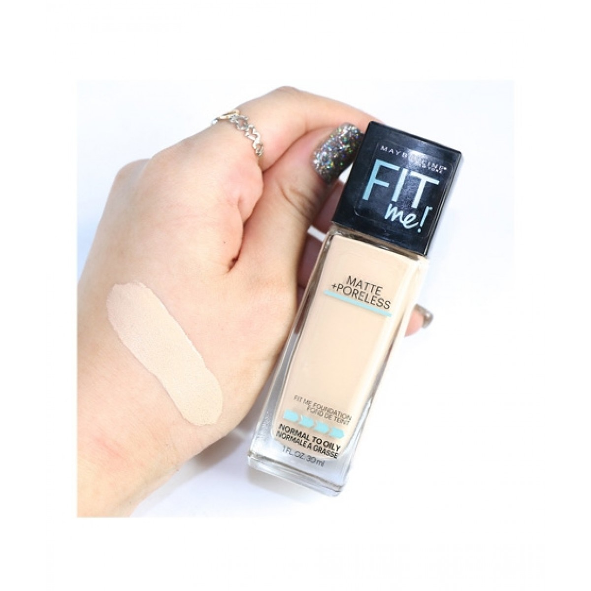 Maybelline Matte Poreless Foundation Price In Pakistan Buy Maybelline Fit Me Foundation 112 Natural Ivory Ishopping Pk