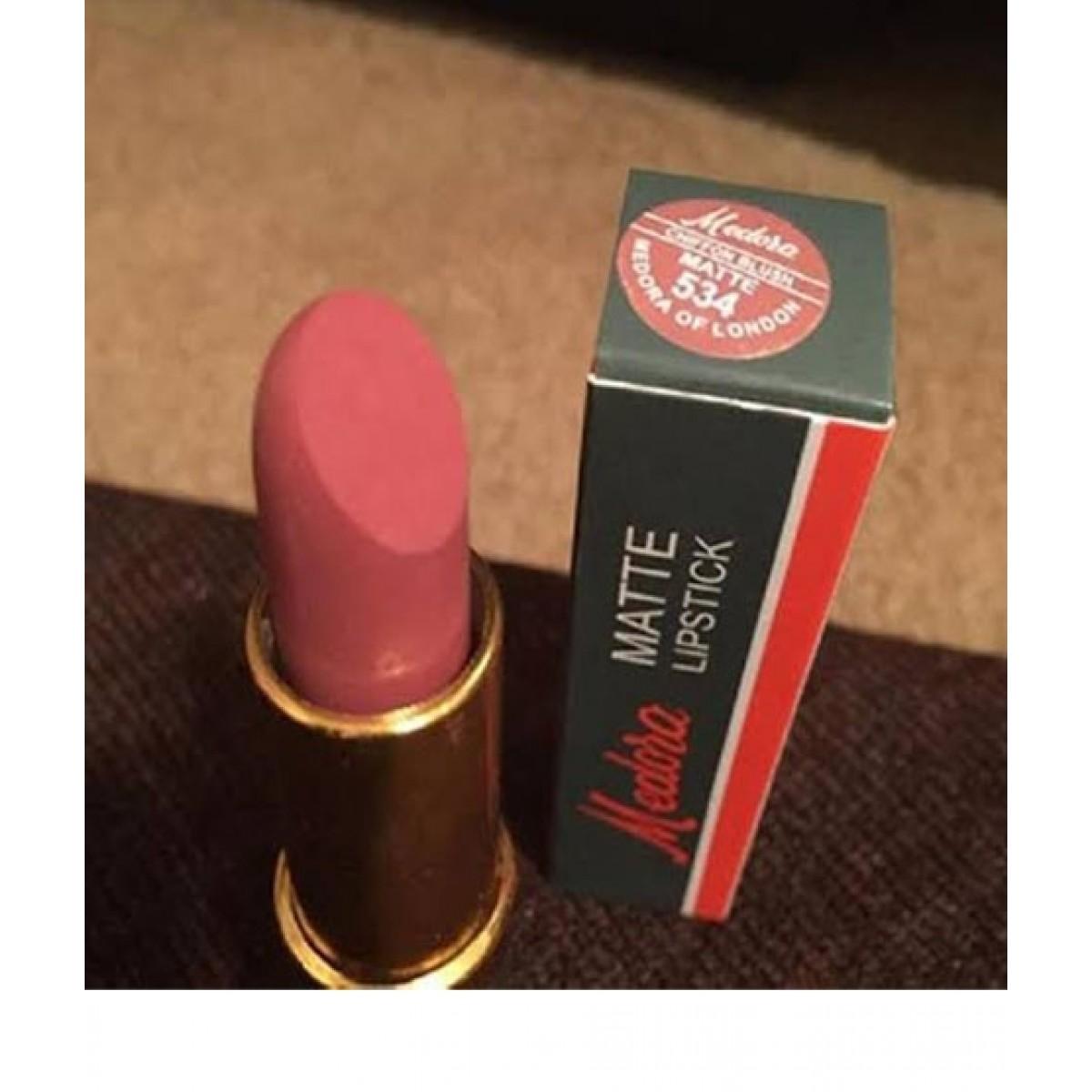 Medora Matte Lipstick Chiffon Blush Price In Pakistan Buy Medora Matte Lipstick 534 Ishopping Pk
