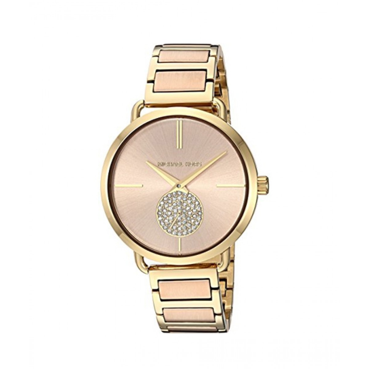 wide varieties uk availability excellent quality Michael Kors Portia Women's Watch Two Tone (MK3706)