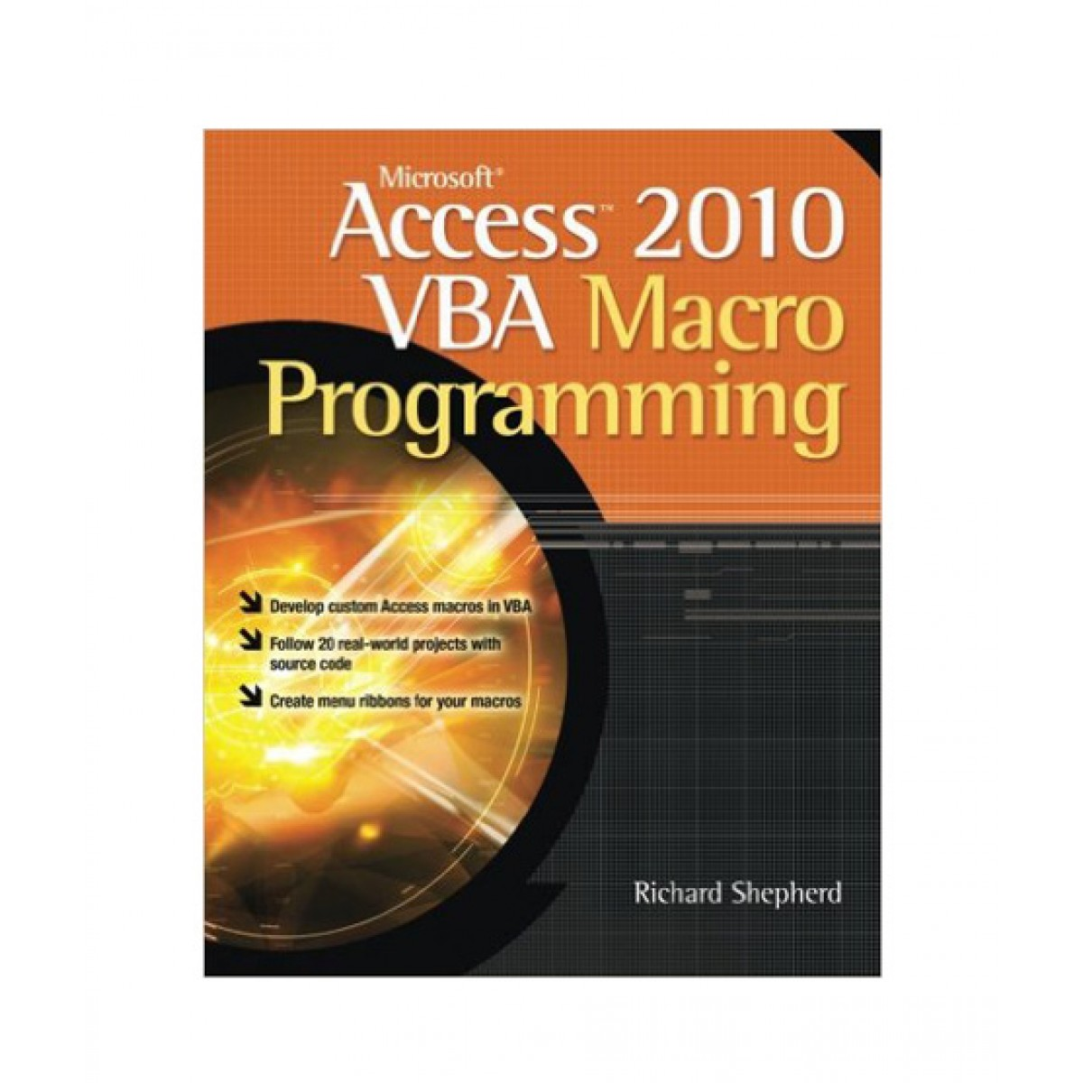 Microsoft Access 2010 VBA Macro Programming Book 1st Edition