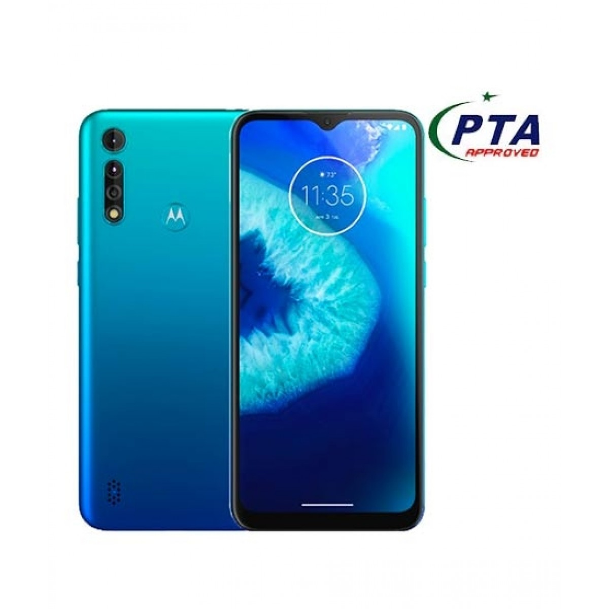Motorola Moto G8 Power Lite 64GB 4GB RAM Dual SIM Arctic Blue