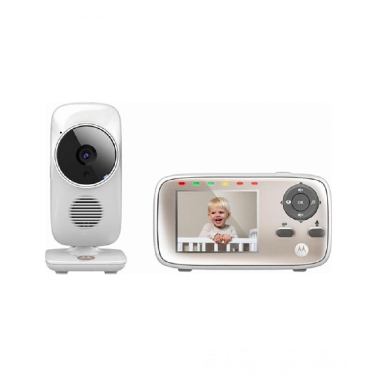 Motorola Baby Wi-Fi Video Monitor White (MBP667CONNECT)