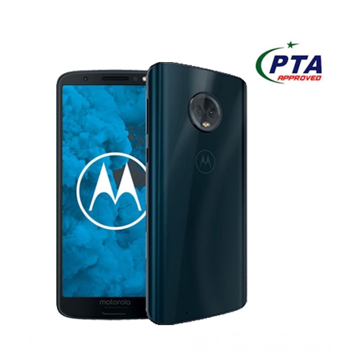 Motorola Moto G6 Plus 64GB Dual Sim Deep Indigo - Official Warranty