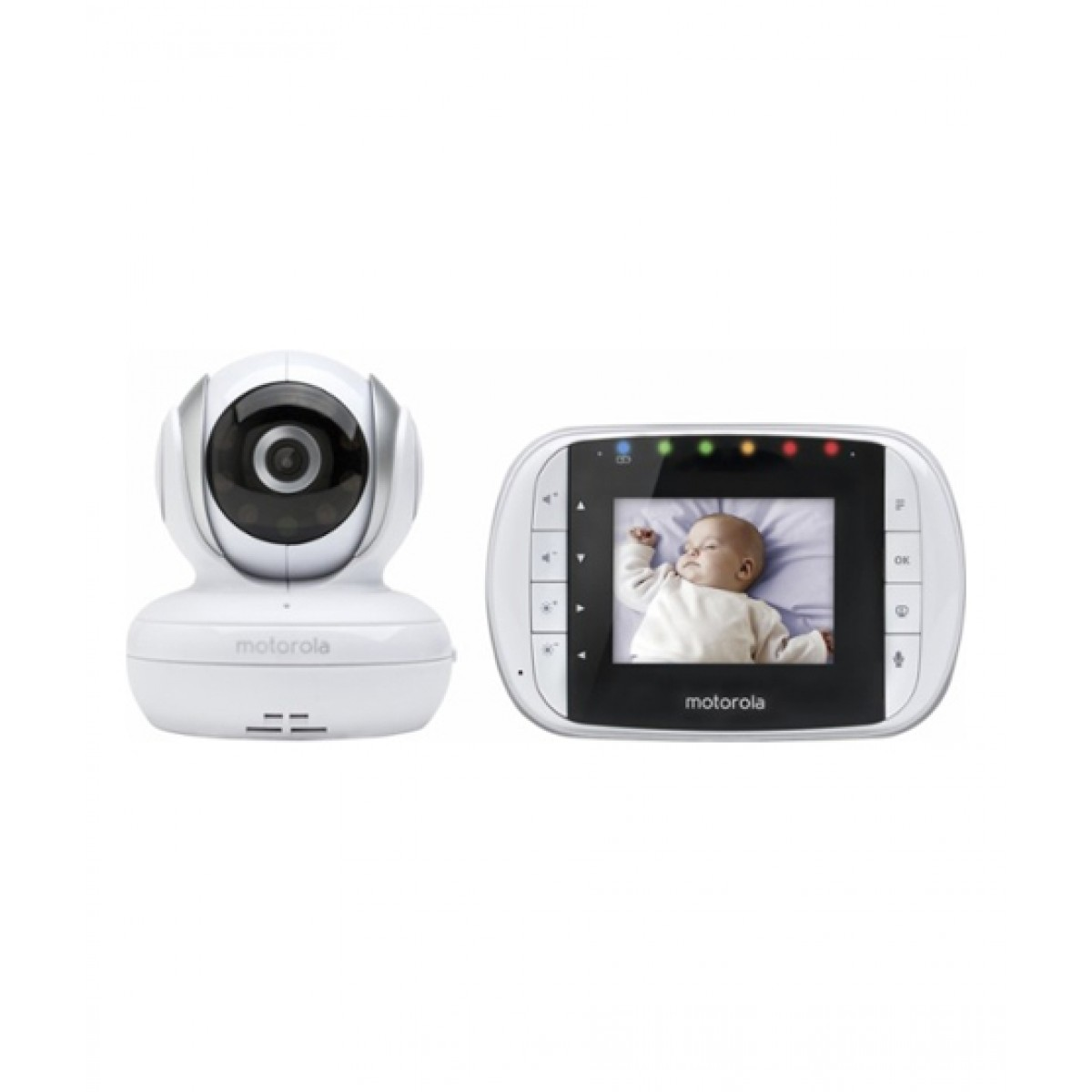 Motorola Wireless Baby Video Monitor White (MBP33S)