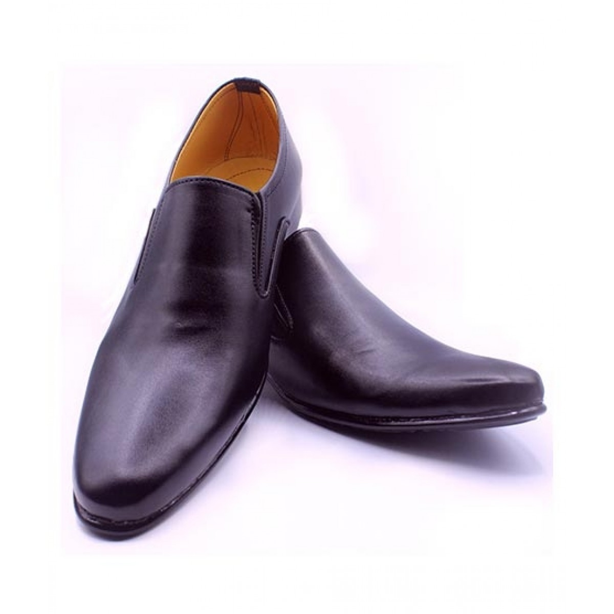 MOZAX Formal Shoes For Men Black (BLK-0006)